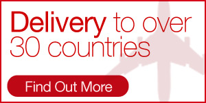 Delivery To Over 30 Countries